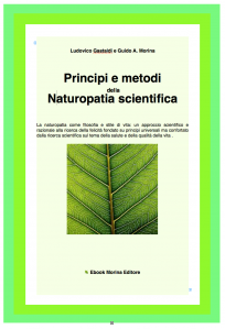 che cos'è la naturopatia scientifica